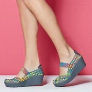 Steven By Steve Madden Brice Woven Clogs Mules